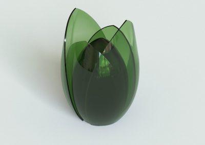 Umarmung IV grün